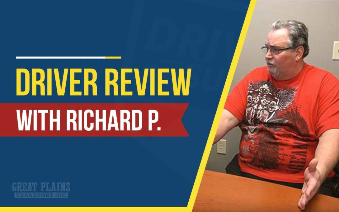 Great Plains Transport Review with Richard P.