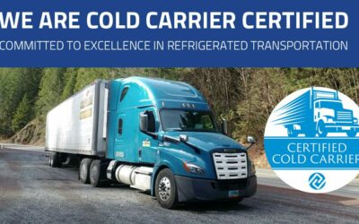 Great Plains Transport Earns Cold Carrier Certification from IRTA