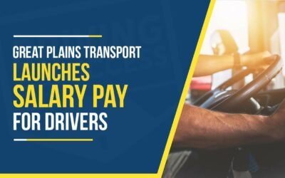Great Plains Transport Launches Salary Pay for Truck Drivers