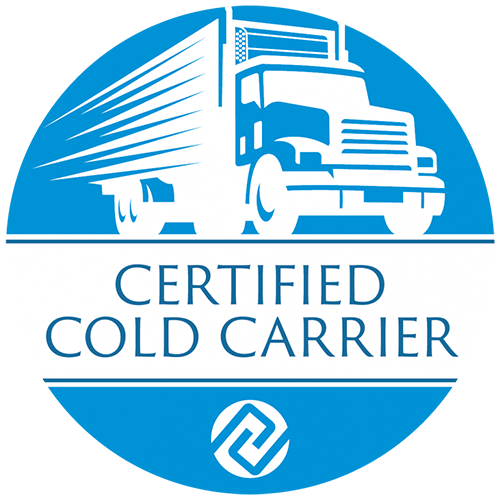 Great Plains Transport is a Certified Cold Carrier.